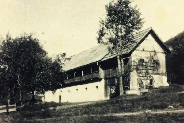 Haus alte Ansicht